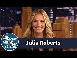Julia Roberts odpowiada psu, który się jej boi
