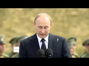 Ptaszek narobił Putinowi na garnitur