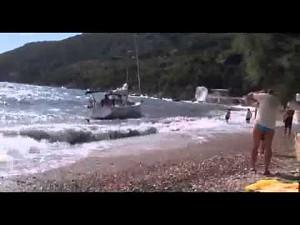 Przybili do brzegu