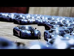 Równoczesny przejazd 700 samochodów