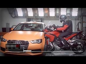 Ducati Multistrada vs Audi A3