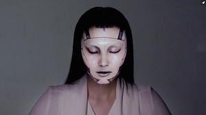 Niesamowite animacje na twarzy