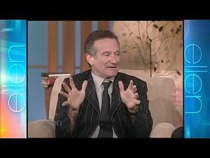 Robin Williams o spotkaniu z Koko