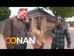 Ice Cube, Kevin Hart i Conan biorą podwózkę