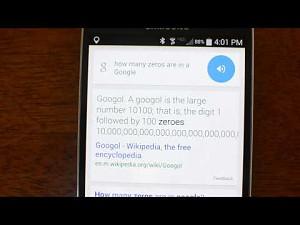 """Okey Google: ile zer jest w liczbie """"googol""""?"""