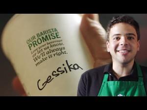 Dlaczego w Starbucksie źle zapisują twoje imię?
