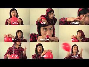 99 Red Balloons - zagrane na czerownych balonach