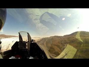 Niski przelot duńskiego F-16 nad Grenlandią