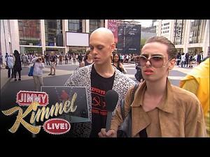 Jimmy Kimmel i Fashion Week