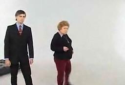 Staruszka w reklamie X-boxa