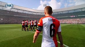Feyenoord-Ajax prezentacja zespołów jak w FIFIE