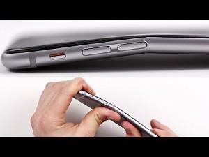 iPhone 6 Plus test giętkości