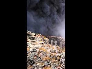 Erupcja japońskiego wulkanu
