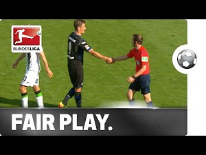 Fair play w Bundeslidze