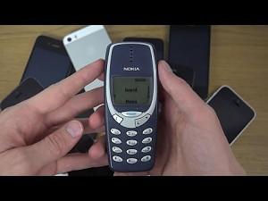 Nokia 3310 - test zaginania