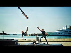 Niesamowite akrobacje - Teeterboard