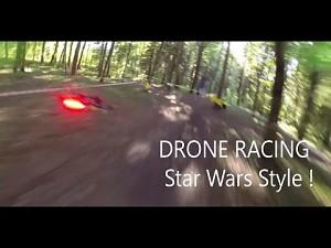 Wyścig dronów w stylu Star Wars