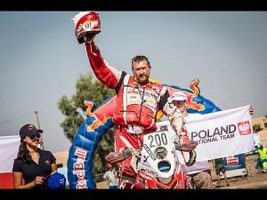 Rafał Sonik z Pucharem Świata