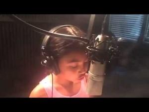 Powalający głos ośmiolatki
