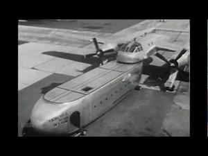 Film prezentujący amerykański eksperymentalny projekt samolotu transportowego