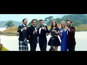 Reklama whiskey od Davida Beckhama