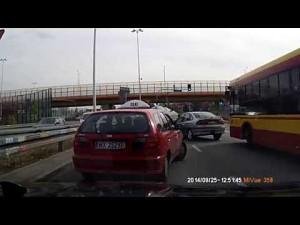 Zaskakujący wypadek w Warszawie