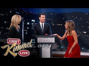 Pojedynek na przekleństwa - Jennifer Aniston vs Lisa Kudrow