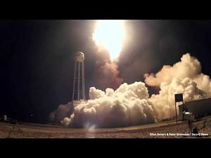 Awaria rakiety Antares widziana z bliska