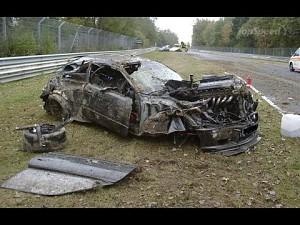Parada wypadków - Nordschleife Nürburgring 2014