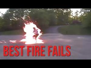 Ultimate Fail Compilation: Najlepsze ogniowe porażki
