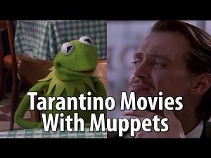 Muppety występują w scenach z filmów Tarantino