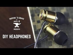 Zrób to sam: słuchawki z łusek
