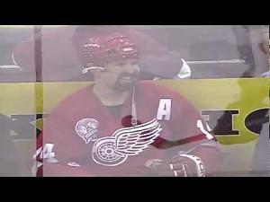 Kobieta uciszona przez gracza NHL