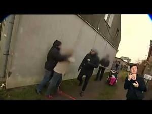 Zaatakowali ekipę TVP podczas relacji na żywo w Przelewicach
