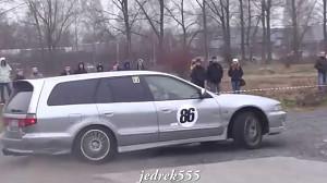 Galant 4WD w rajdach KJS