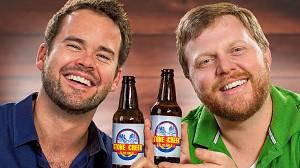 Reklama piwa w formie typowej reklamy jogurtu
