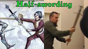 Chwytanie ostrego miecza za głownię podczas walki