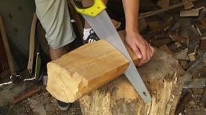 Drewniana lampka w 2 minuty