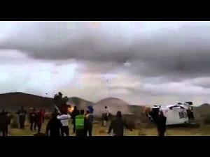 Widowiskowy wypadek na rajdzie Dakar