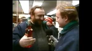 Tadeusz Drozda w monopolowym mówi o Świętach