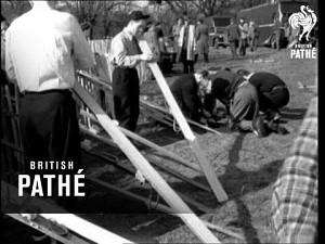 Pierwsze skoki narciarskie (1950)