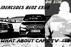 Pij mleko będziesz (za)wielki - BIG STIG i Mercedes E-klasa w PL