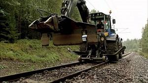 Maszyna do wymiany podkładów kolejowych