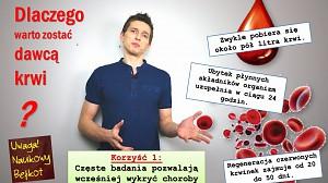 Dlaczego warto zostać dawcą krwi?
