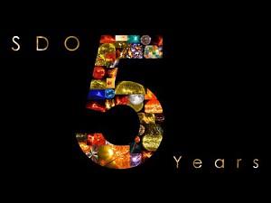 Pięć lat z historii Słońca w 4 minuty