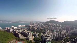 Czekoladka dostarczona na drugi koniec Hong Kongu dronem w 14 minut