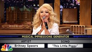Christina Aguilera śpiewa głosem Cher, Britney Spears i Shakiry