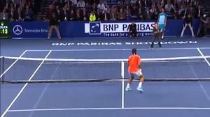 Dzieciak ograł Federera na turnieju pokazowym w Nowym Jorku