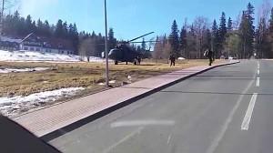 Desant komandosów Karpacz