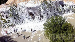 4000 rolek papieru toaletowego w akcji